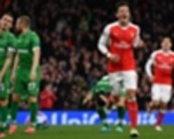 wenger: ozil's got a 'taste' for goals now