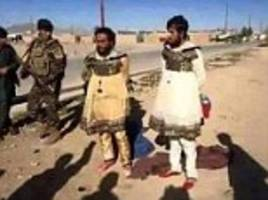 This war is a drag! Cowardly ISIS fighters flee Mosul dressed in women's clothes after their leader orders wives and girlfriends to evacuate the city