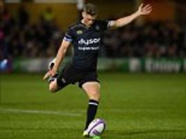 bath 22-6 bristol: wales fly-half rhys priestland kicks home side to victory in west country derby