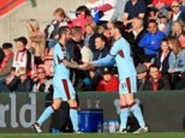 burnley midfielder steven defour to miss everton game with a hamstring injur