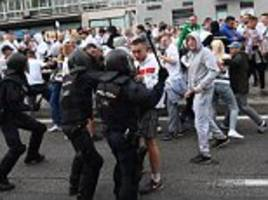 Legia Warsaw fear Champions League exclusion after fans clash with police prior to Real Madrid fixture