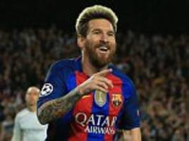 Lionel Messi played 'like a child in the playground', says Luis Enrique after hat-trick in Manchester City mauling