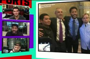 derrick rose takes pictures with jurors after being acquitted for rape | tmz sports
