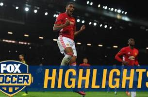 anthony martial scores second penalty for united | 2016-17 uefa europa league highlights