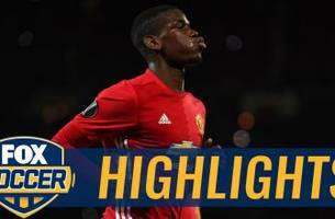 pogba's stunning strike gives man united 3-0 lead | 2016-17 uefa europa league highlights