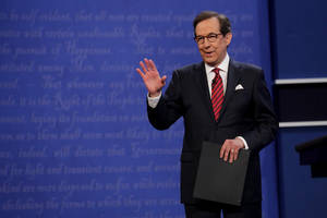 Here's How Chris Wallace Did as Moderator at the Final Presidential Debate