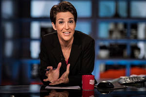 How MSNBC's Rachel Maddow Made History Last Week in Ratings Race With Fox News' Megyn Kelly