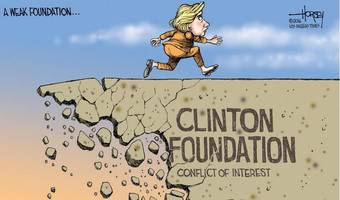 clinton foundation insider makes stunning admission: bill is far more conflicted every single day