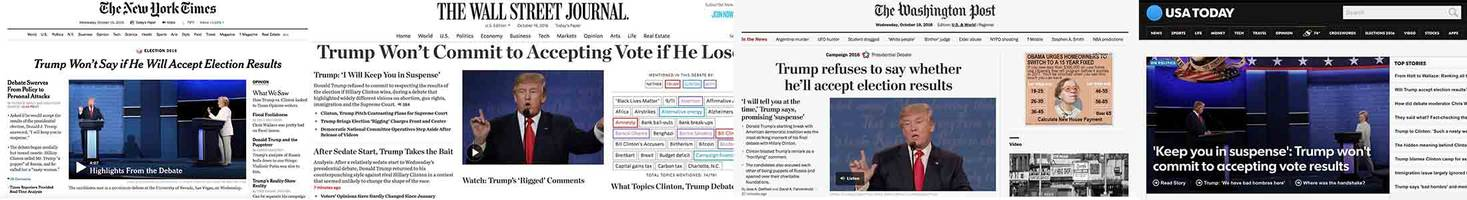 The Morning After: What All Newspapers Are Leading With After Last Night's Debate