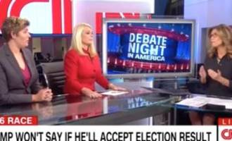 'i'm going to stop this right now': cnn panel melts down during trump supporter's voter fraud rant
