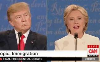 Hillary Clinton Says That Trump 'Choked' During Mexico Trip