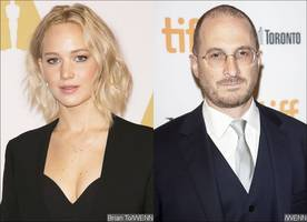 the proof is here! jennifer lawrence and darren aronofsky spotted on lunch date