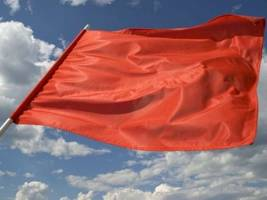Red Flag Warning in Effect for Hollywood Hills