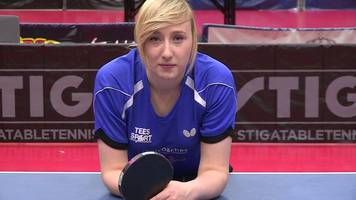 charlotte carey ventures across europe to play table tennis, sport wales went along to watch
