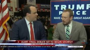 trump's fb live during last debate might be start of trump tv