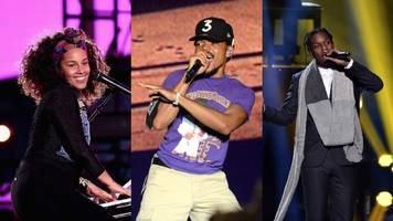 watch alicia keys, chance the rapper, a$ap rocky, and patti smith perform on the black ball live stream