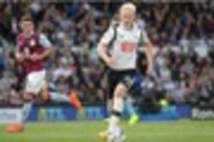 midfielder hands derby county a boost ahead of clash with...