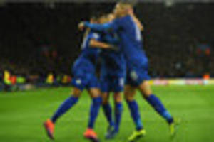 Mahrez voted man of the match from Leicester City's victory over...