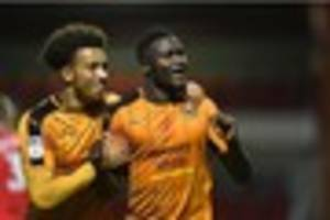 wolves striker enobakhare shines bright with a brace in five-star...