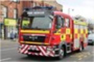 Fire crews rescue two children locked in a car