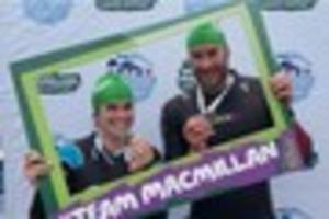 maidenbower newlyweds to take part in great south run wearing...