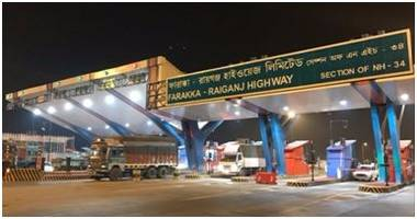 hcc concessions starts toll operations for farakka raiganj highway in west bengal (nh-34)