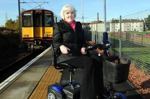 paisley msp george adam's wife stacey hits out after rail staff threaten to boot her off a train