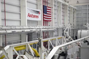 launching of orbital atk's unmanned antares rocket successful