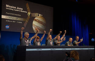 nasa's juno space probe continues mission despite engine setbacks