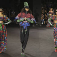 Jean-Paul Goude Directs a Spectacular Fashion Show in New York to Celebrate the Launch of KENZO x H&M