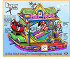 Things Will Get a Little Krazy at the 90th Anniversary Macy's Thanksgiving Day Parade®