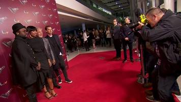 Celebrities behind ITV's The Voice gather on the red carpet