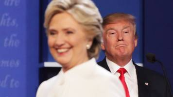 Presidential debate: The moment Trump v Clinton turned nasty