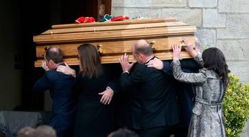 Anthony Foley left 'indelible, affirming marks', priest tells mourners at funeral in Clare
