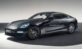 New Porsche Panamera Coupe Rendered as Modern-Day 928, Seems Accurate
