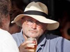 Phil Collins and why retiring turns so many to drink, DR MAX THE MIND DOCTOR