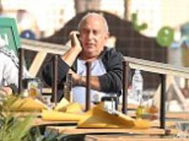 Sir Philip Green cuts a solitary figure the day after knighthood criticism