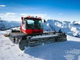 woman crushed to death in austria by a snowcat vehicle after boyfriend lost control
