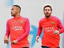Barcelona get back to the grind after thrashing Manchester City on Wednesday night as Luis Enrique's side gear up for Valencia clash