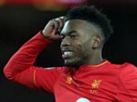 jurgen klopp could axe daniel sturridge from his liverpool fc side to face west brom