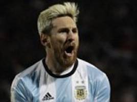 lionel messi returns to argentina team for crucial world cup qualifier against brazil