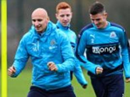 rafael benitez urges newcastle to maintain 'right mentality' as championship leaders prepare for ipswich clash