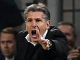 southampton boss claude puel insists his side were 'just unlucky' after europa league defeat by inter milan