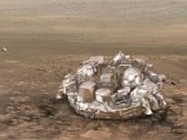 Europe's lost Mars lander may have been SHOT DOWN by Nasa, claims conspiracy theorist
