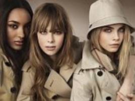 market report: rumours that burberry will merge with us handbag firm coach send shares soaring 7%