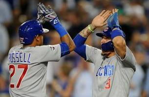 duo of baez and russell making beautiful music to get cubs on brink of world series