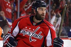 capitals player loses piece of his ear after blocking shot with head
