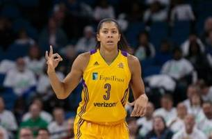 Watch Candace Parker's Emotional Tribute to Pat Summitt After Leading the Los Angeles Sparks to the WNBA Championship