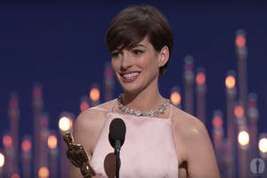 Anne Hathaway 'Pretended' to Be Happy Winning Oscar — But You Still Don't Understand