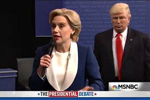 how donald trump made 'snl' great again